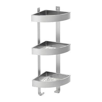 Astonishing Ikea Grundtal Stainless Steel Bathroom Corner Shelf Download Free Architecture Designs Scobabritishbridgeorg