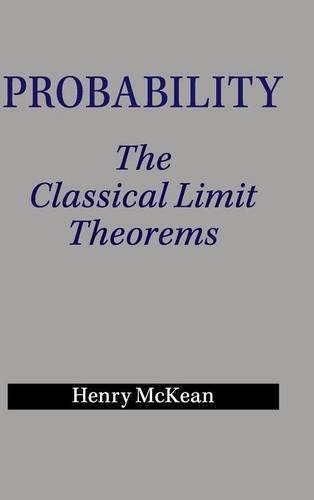 PDF⋙ Probability: The Classical Limit Theorems by Henry McKean