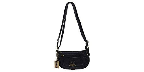 Cutie Pie Messenger Bag Handle Drop 25 Inches (Black)