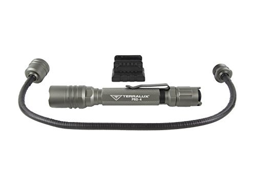 TerraLUX LF-PRO-4-GRY Convertible Flashlight, Grey by TerraLUX