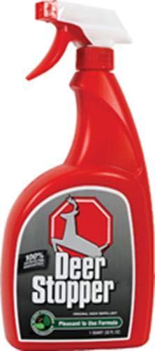 Messina Wildlife Deer Stopper Trigger Bottle, 32 oz, Red - DS-U-016 (Animal Stopper)