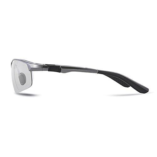 Sol DíA Gafas Retrovisor 100 Anti Noche Hombres TESITE De UV Espejo para Gris Y Polarizadas EqwPdZIp