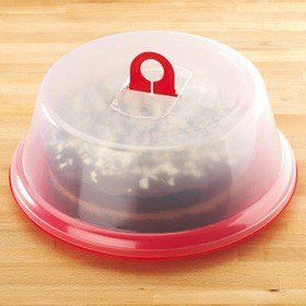 Large Plastic Lidded Red Cake Storage Box Amazoncouk Kitchen Home