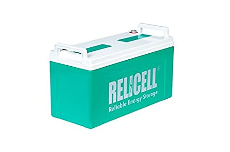 Relicell 12v 50ah Solar Gel Battery Buy Relicell 12v 50ah Solar Gel Battery Online At Low Price In India Amazon In