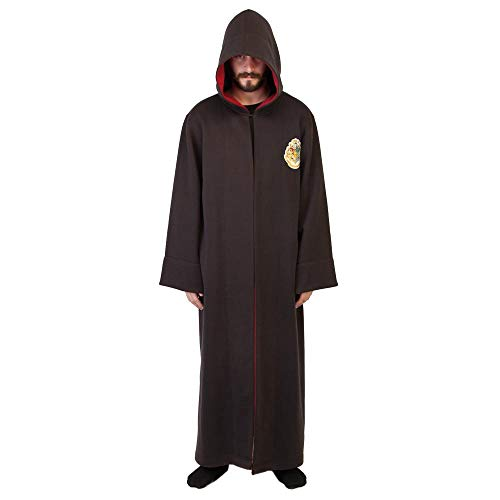 Bioworld Harry Potter Hogwarts School of Witchcraft and Wizardry Student Robe-SM,Black ()