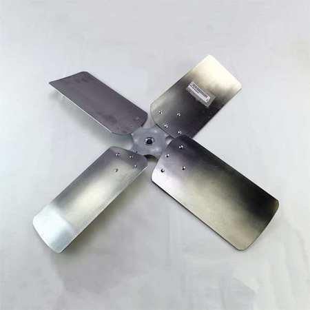 Four Fan Blade, 30'' dia., 22 Deg., 5/8'' CW