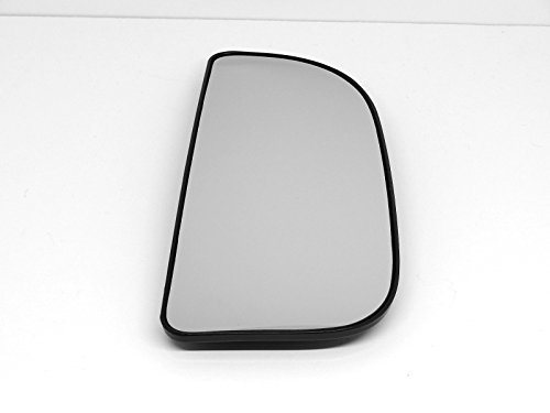 (Fits 10-17 Ram 1500 2500 3500 Right Pass Outer Tow Mirror Glass w/Back Plate)