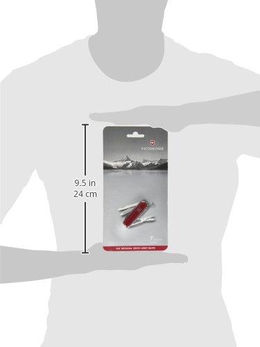 Nagelfeile Victorinox Taschenmesser Classic SD 7 Funktionen, Klinge, Schere, Nagelfeile chocolate VICUL|#Victorinox 0.6223.842