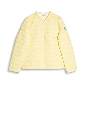 edc by Esprit, Chaqueta para Mujer Amarillo (Pastel Yellow 770)