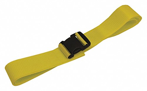 Strap,Yellow,Polypropolylene,9ftL,PK100 by MEDSOURCE