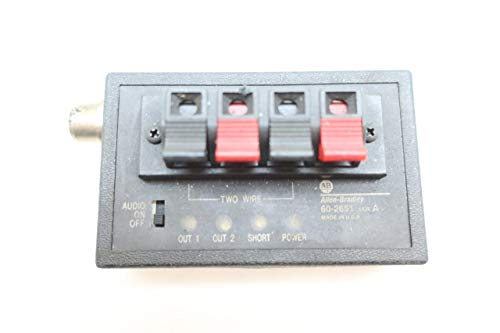 (ALLEN BRADLEY 60-2651 PHOTOELECTRIC Interface Router SER A D659946 )
