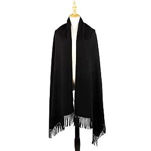 TOUCHANDFEEL Winter Scarf for Women Plaid Shawl Cozy Blanket Tartan Wrap Warm Cashmere Feel Pashmina Scarves
