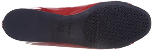 red Rosso D Lamulay Ballerine navy C Donna Geox YP4qSZq