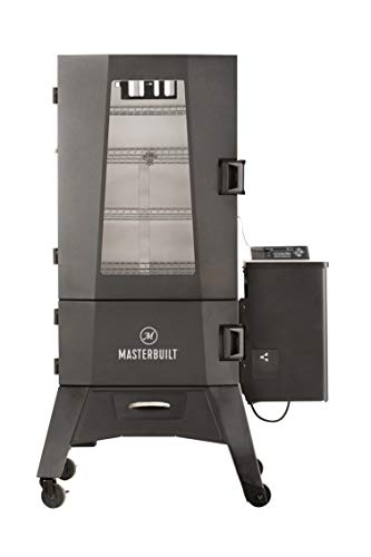 Masterbuilt MWS 140S Pellet Smoker, Black