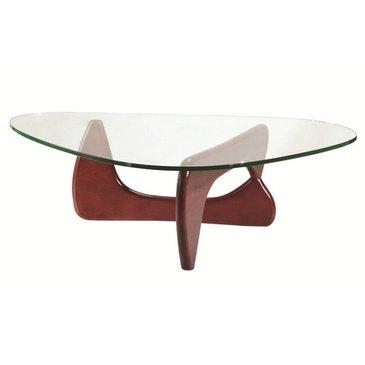 fee Table, Mid Walnut (Knoll Living Room Coffee Table)