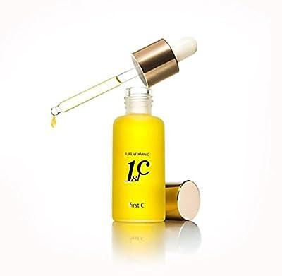 Liz K First C Pure Vitamin C Total Care Serum 10ml 1pc, Korea Cosmetics NEW