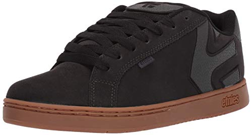 Etnies Men's Fader Skate Shoe, Charcoal, 10.5 Medium US