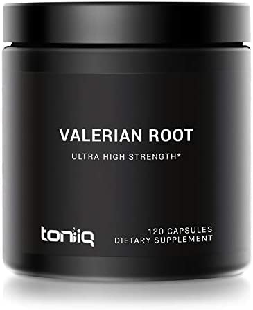 Ultra High Strength Valerian Root Capsules – 1,300mg 4X Concentrated Extract – The Strongest Valerian Root Supplement Available – 120 Capsules