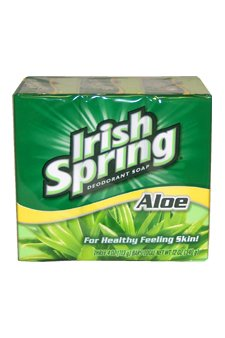 Aloe Deodorant Soap By Irish Spring for Unisex, 3 Count
