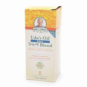 Flora Udo's Oil DHA 3-6-9 Blend Liquid 17 fl oz (500 ml)
