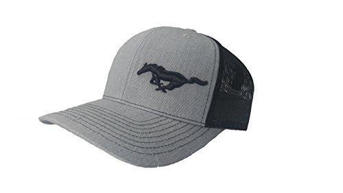 Richardson 3D Puff Ford Mustang Logo Emblem Hat Cap Adult Adjustable Snapback Unisex