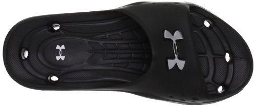 Under Armour Ua M Locker II Sl 1238676-001 - Sandalias para hombre, color negro, talla 48.5 Negro (BLK 001)