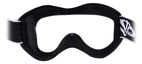 (Vega Off-Road Goggles (Flat Black, Size Adult))