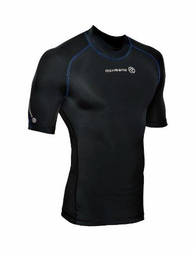 Rehband Herren Funktionswäsche Compression Short Sleeve Top, schwarz, XL