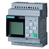 Siemens 6ED1052-1FB08-0BA0 OGO! 230RCE,logic module, display PS/I/O: 115V/230V/relay, 8 DI/4 DO, memory 400 blocks, modular expandable, Ethernet
