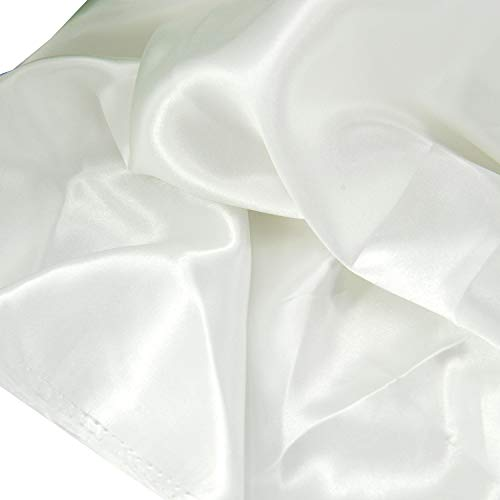 Best white silk fabric by the yard list