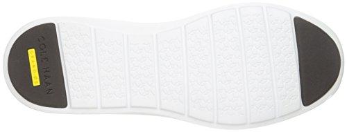 Cole Haan Donna Originale Grande Perf Fashion Sneaker Castagna Traforata In Pelle / Bianco Ottico