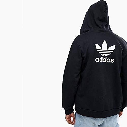 Devorar origen a pesar de  Amazon.co.jp: Adidas Fleece Trefoil Hoodie (TRF FLC HOODIE) dn6016  [parallel import goods] : Clothing & Accessories
