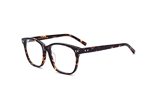 HEPIDEM 2017 New Acetate Glasses Frame Men Women Prescription Spectacles Eyeglasses Optical Frames Eyewear 22027 - Eyeglass Frames Face Shape