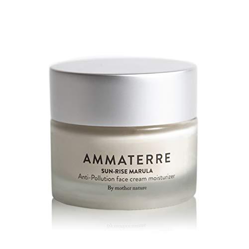 Ammaterre Sun Rise Marula, Day Cream, Anti-Pollution Face Cream Moisturizer for all skin types, 1.7 fl. Oz.