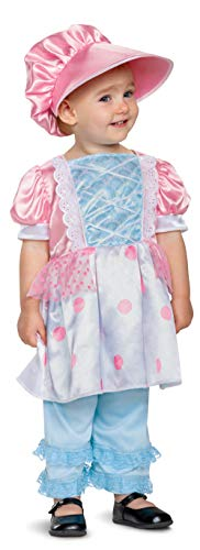Bo Peep Toy Story 4 Deluxe Original Look Toddler Halloween Costume (12-18)