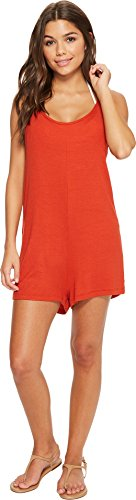 Oasis Original Waterfall (Isabella Rose Women's Paradise Knit Romper Cover-Up Paprika Medium)