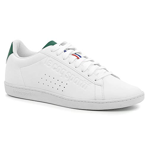 Le evergreen White Courtset Optical Adulto Blanco White evergreen Zapatillas optical Unisex Sportif Coq RzwrR