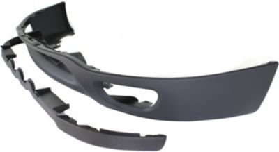 Evan-Fischer EVA18272022864 Valance Front Spoiler Lower apron Plastic Gray With holes for fog light and tow hook (99 F150 Valance compare prices)