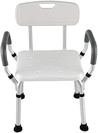 XYLF Duschhocker Badestuhl Aluminium badestuhl Schwangere Frauen Handicap-Duschsitze für Erwachsene (Size : 48 * 45 * 54cm)