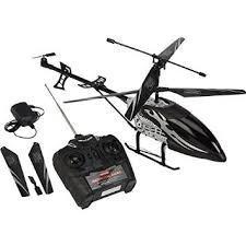Black Spider 3.5 Channel Mega Helicopter, 22 Inches Mega Size. RC Remote Controller. (22 Inch Rc Helicopter)