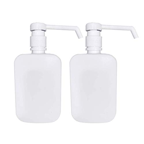 wanzi2 Soap Dispenser – 500ML Kitchen Bathroom Wall Mount Shower Shampoo Lotion Container Holder System,Head Soap…