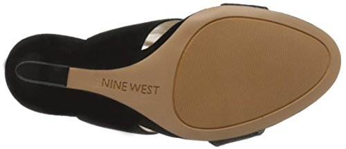Bomba de Nine West Bueta vestido de gamuza Black/Multi