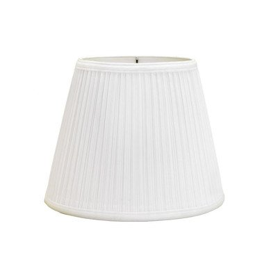 "Deran 402-16-WH 16"" Mushroom Pleat British Empire Lamp Shade"
