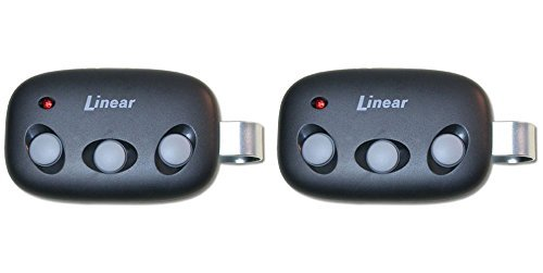Linear Megacode MCT-3 3-Channel Visor Transmitter Lot of 2 -