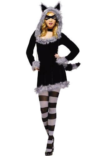 RACY RACCOON MD LG 10-14 (Racy Halloween Costumes)
