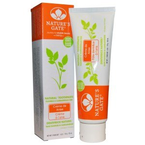 Nature's Gate Toothpaste, Creme de Anise 6 oz ( Pack of (Creme De Anise Natural Toothpaste)