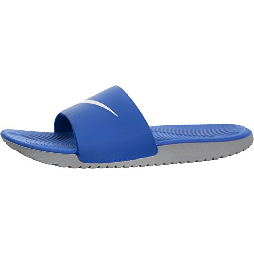 100% authentic dbbf3 ded52 Galleon - NIKE Men s Kawa Slide Athletic Sandal, Hyper Cobalt White Wolf  Grey, 10 D US