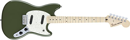 Fender Mustang Short Scale Offset Electric Guitar - Maple Fingerboard - ()