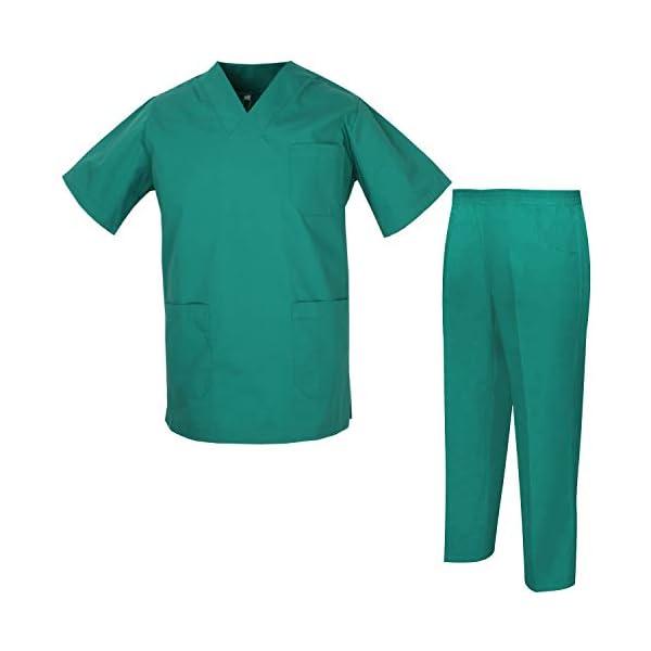 MISEMIYA Uniforms Unisex Scrub Set Conjunto de Trabajo para Hombre 4