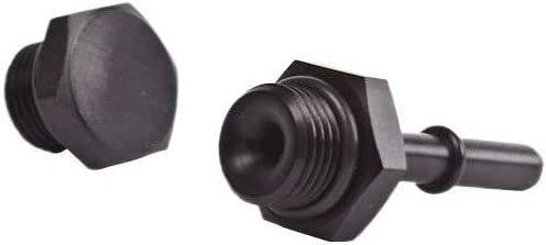 5/16-8AN Fuel Rail Quick Connect Fitting Adapter - For Honda Acura - K-Series K20 K24 - K-MOTOR